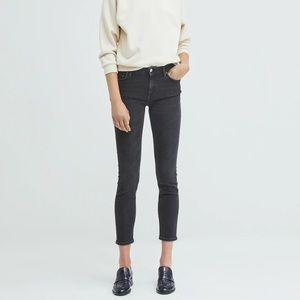 ACNE Studios Skinny Dark Wash Ankle Jeans (24)